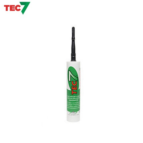 Tec7 Glue, Mount And Seal BLACK 310ml