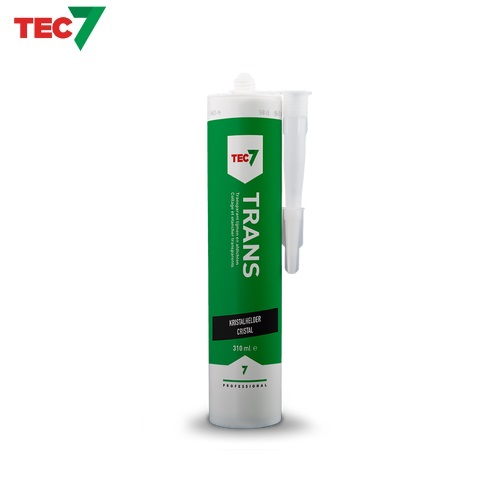 Tec7 TRANS Transparent / Clear Universal Sealing Adhesive 310ml