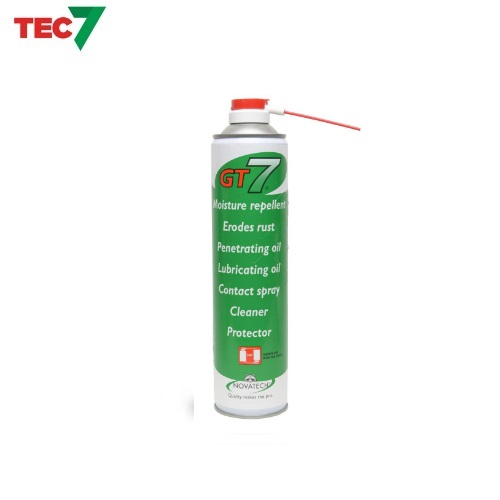Tec7 GT7 Multi Purpose Spray Penetrating Oil / Lubricant / Fights Rust / Cleaner 600ml