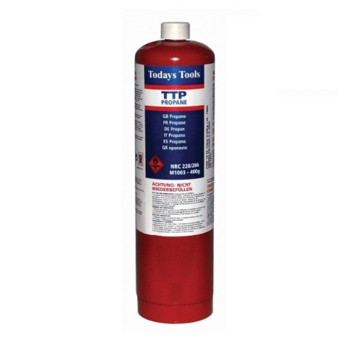 TTP RED Propane Gas Cylinder 400g
