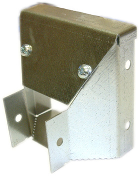 Unitrunk 75-50mm Galv Trunking Reducer RE7550