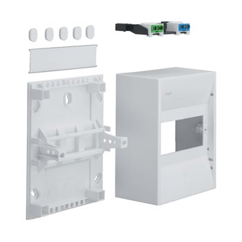 Hager 5 Module Mini Enclosure GD106N