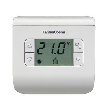Digital Room Thermostat White Fantini Cosmi CH110