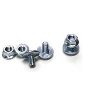Galvanised Trunking M6 Locking Screw/Bolt & Nut(BULONS) LSN
