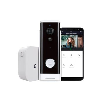 Ener-J Smart Wi-Fi Video Doorbell - PRO Series SHA5307