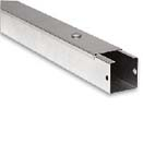 75 x 75mm C/W Lid & Coupler Galvanised trunking E300