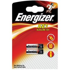 Panasonic Battery 12V Alkaline A27 - Pack Of 2