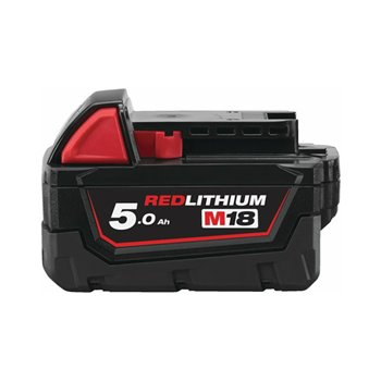 Milwaukee M18B5 M18™ 5.0 AH Battery Red lithium Ion 4932430483