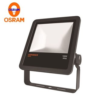 Outdoor LED Floodlight 100W 4000K 10,000Lm IP65 Black 001138 Osram LEDVANCE