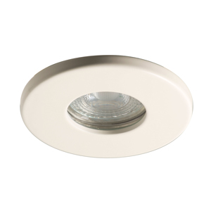 35W FIXED DOWNLIGHT WHITE LOCK RING GU10 DIE CAST LUCECO EDLGUIPWH