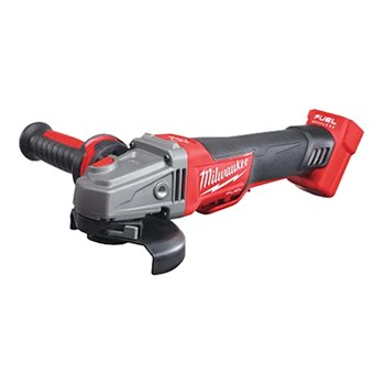 Milwaukee M18 CAG115XPDB-0 115mm Fuel™ Brushless RAPIDSTOP™ Angle Grinder 4933451007