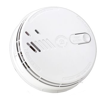 Ionisation Smoke Detector Mains Powered C/W Battery Back-Up (Replaceable) Ei141RC