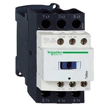 25A 220v Contactor 1 N.Open + 1 N.Closed Telemecanique LC1D25P7