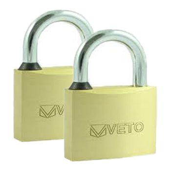 Brass Padlock 40mm X 2