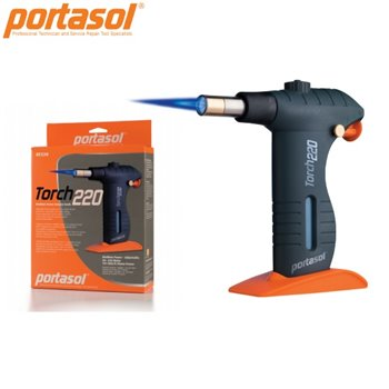 Portasol Pro Piezo Blowtorch GT220 - Medium Power Butane Torch 751 BTU/h (1350 °C)