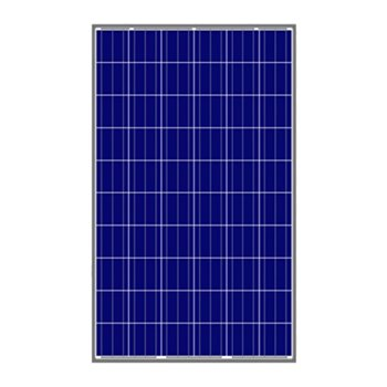 Polycrystalline High Performance Solar Panels 255W AS-6P30 Conversion Efficiency 16.9%