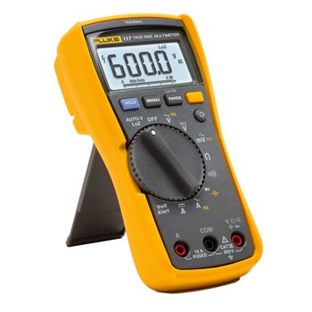 Fluke Electrician's Multimeter with Non-Contact voltage 117