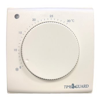 Electronic Room Thermostat with Tamper Proof Cover Timeguard TRT032