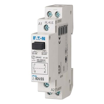 Eaton Auxiliary Contactor 265173 2P 20A 2NO 24V