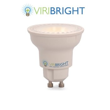 Viribright 4.2W LED PAR16 Dimmable 140° 220V GU10 2700K WW VB750087