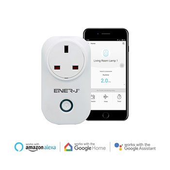 Ener-J WiFi Smart Plugs With Energy Monitor UK SHA5264