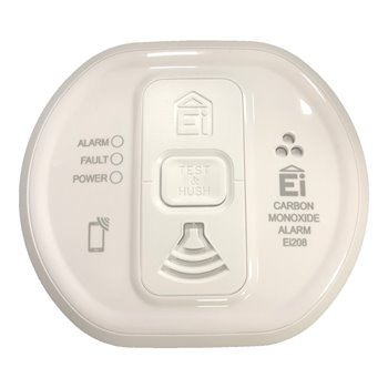Carbon Monoxide Detector Electronics Battery Operated Ei208