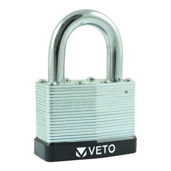 Laminated Steel Padlock - LS 40mm Long Shackle