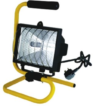 500W Portable Halogen Floodlight / Worklight