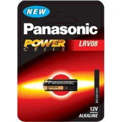 Panasonic 12V Micro Alkaline LRV08 Cell Power 1 Pack - LRV08L/1BE