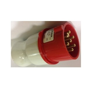 7 Pin 16A 400V IP44 Industrial Plug Top S71S30