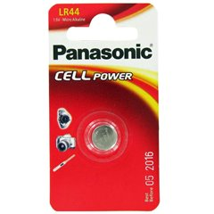 Panasonic LR44 1.5V Battery-1 Pack