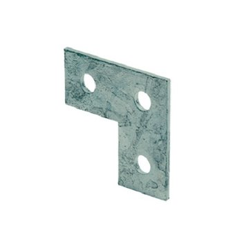 "Unistrut 3 Hole Flat ""L"" Shaped Right Angle Bracket P1036"