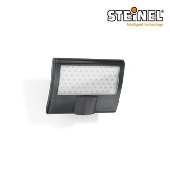 Steinel Sensor Switched LED Floodlight 10.5W XLED Curved Anthracite 160°