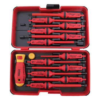 Felo 14-Piece E-SMART Box (Slot, Phillips, Pozidriv, Torx®) | 063 913 06