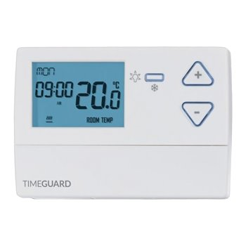 7 Day Programmable Room Thermostat with Frost Protection Timeguard TRT035
