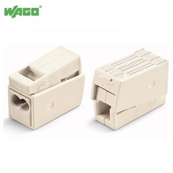 24A 3 Way WAGO Lighting Connector 0.5mm-2.5mm² 224-112