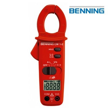 Benning 044062 CM1-2 Clamp Multimeter For AC Current 10mA - 400A 044062