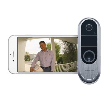 Ener-J Slim Wireless Video Door Bell With 2 Way Audio SHA5289
