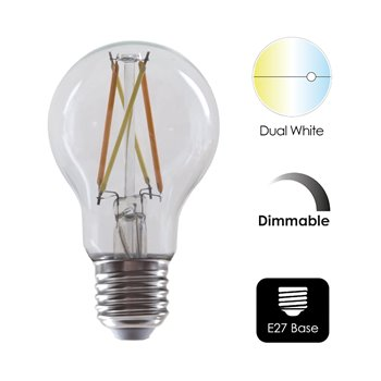 ENER-J WiFi Smart LED Dimmable & CCT Changing Filament E27 Bulb SHA5298