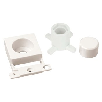 Click Dimmer Module Mounting Kit (Twin Width) Scolmore Polar White MD150PW
