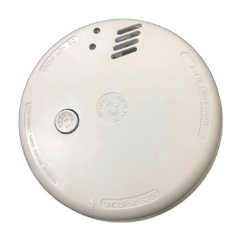 Smoke Detector Mains Powered Optical C/W Battery Backup EI146RC