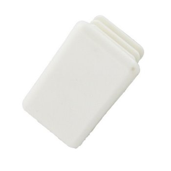 Unistrut PVC End Caps 41mm x 21mm White(Channel End Caps) P3240