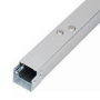 Galvanised trunking 50x50mm C/W Lid & Coupler E200