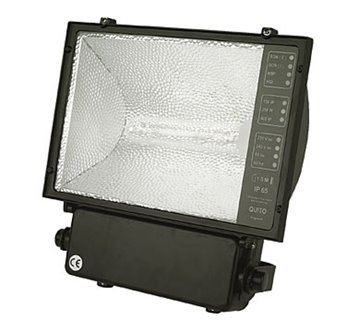 Metal Halide Flood Light 400W C/W Lamp HLO7340 Halo