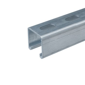 41mm X 41mm Slotted Unistrut 6 Mtr Lengths | P1000T