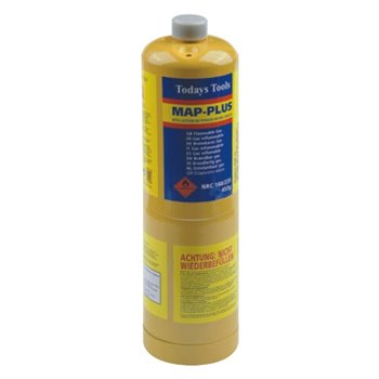 MAP-PLUS Gas Cylinder - Propane, Propene & Dimethyl Ether Mixture 453g